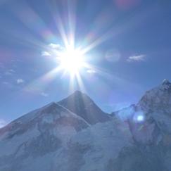 soleil-en-montagne