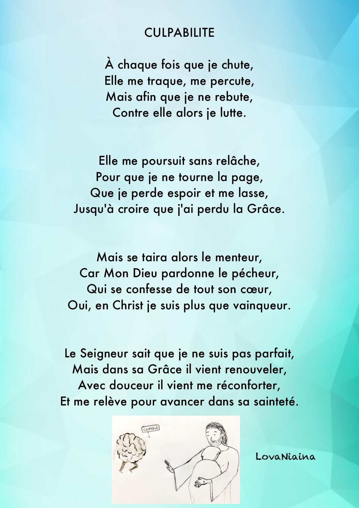 Poemes De Lova La Vie