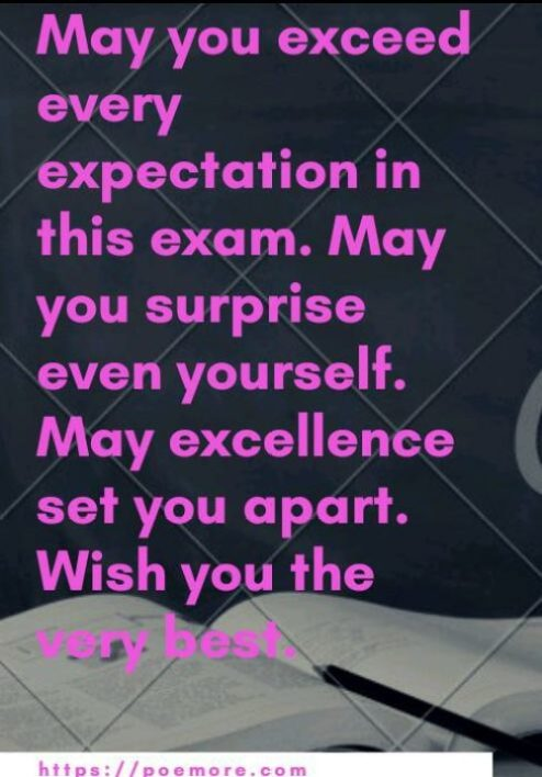70 Exam Success Wishes Messages And Prayers