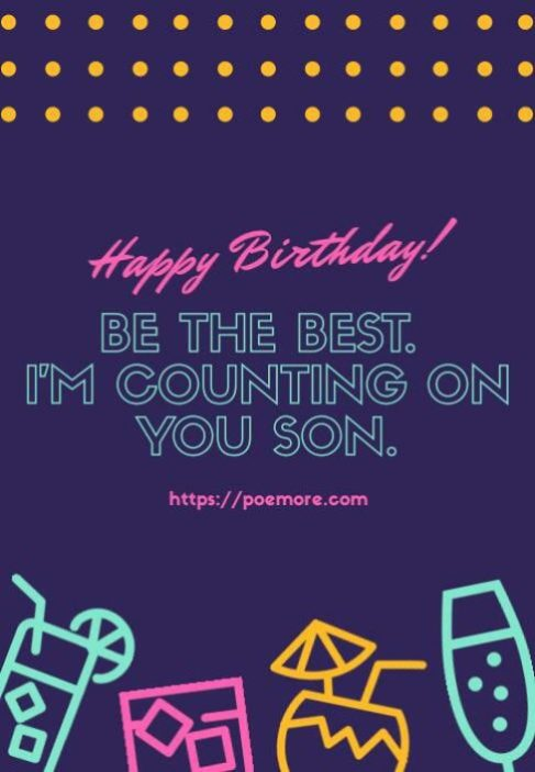 Birthday Wishes Messages Son