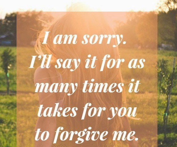 Cute I Am Sorry And I Love You Messages For Her Awesome Love Forgiveness Quotes For Her