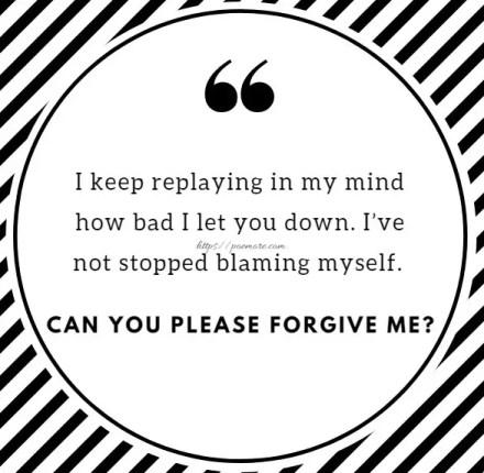 Emotional I Am Sorry Messages