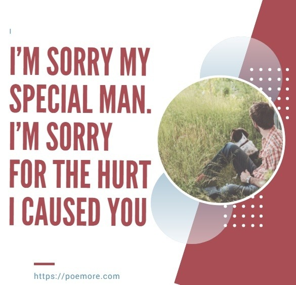 Sincere Apology Love Messages For Him