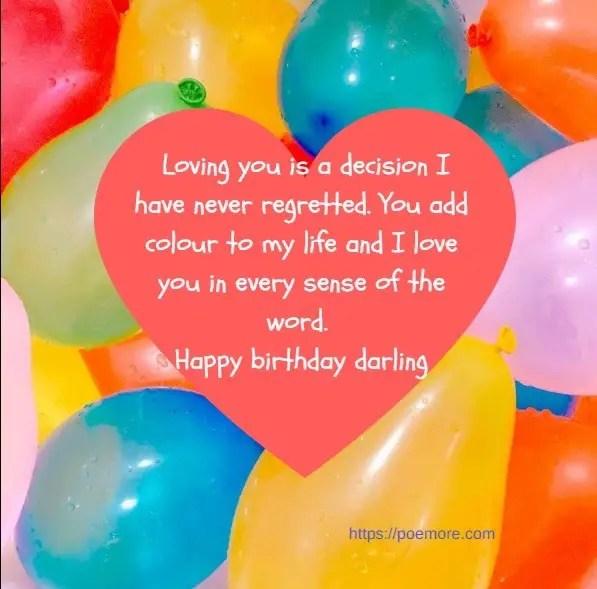 Best romantic birthday messages