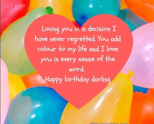 Best Romantic Birthday Wishes Messages