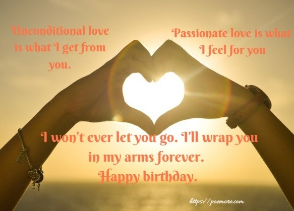 Birthday Wishes Romantic Him ~ Sweetest romantic happy birthday wishes and messages for him