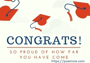 2018 graduation messages and wishes to loved ones achievement congrats message graduation congratulation message m4hsunfo