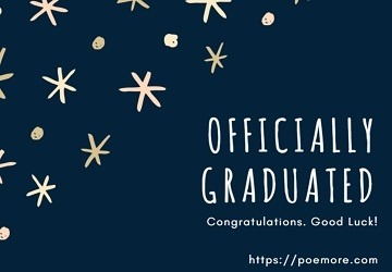 2019 graduation messages and wishes to loved ones