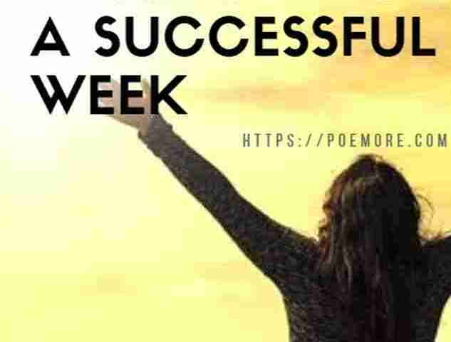 Quotes and Prayer Messages for a New Week Success