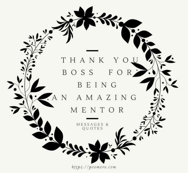 50 amazing thank you quotes and appreciation messages for a boss or mentor
