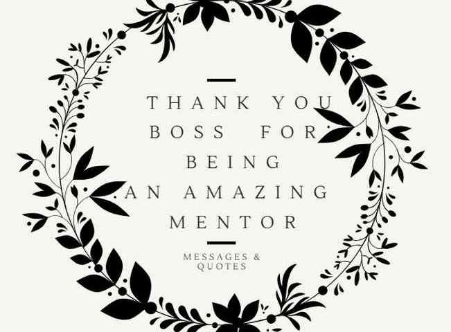 50 Amazing Thank You Quotes And Appreciation Messages For A Boss Or