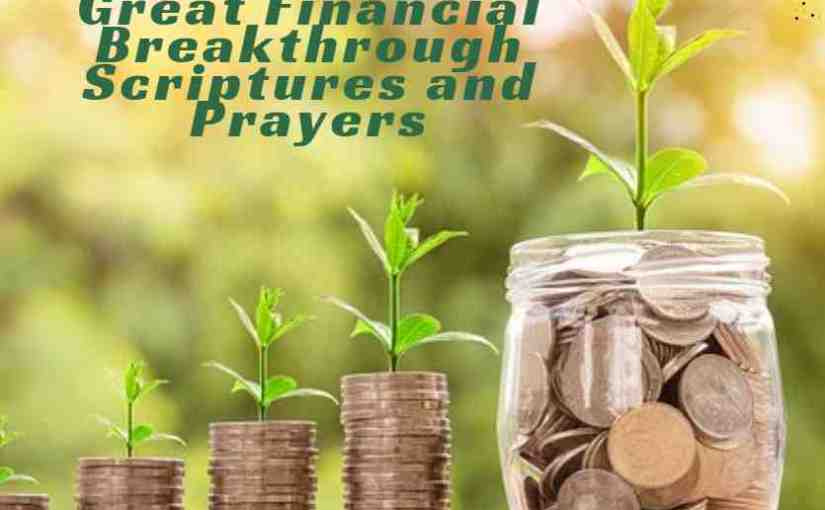 Financial Breakthrough Scriptures and Prayers
