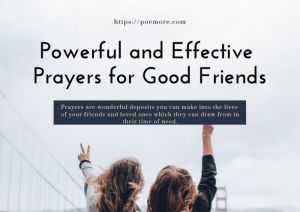 2021 Powerful and Effective Prayers for Good Friends