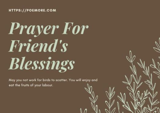 Prayer For a Friend in Business