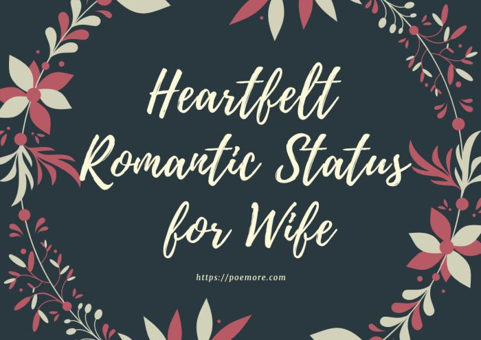 2020 Top Heartfelt Romantic Love Quotes and Status for Wife