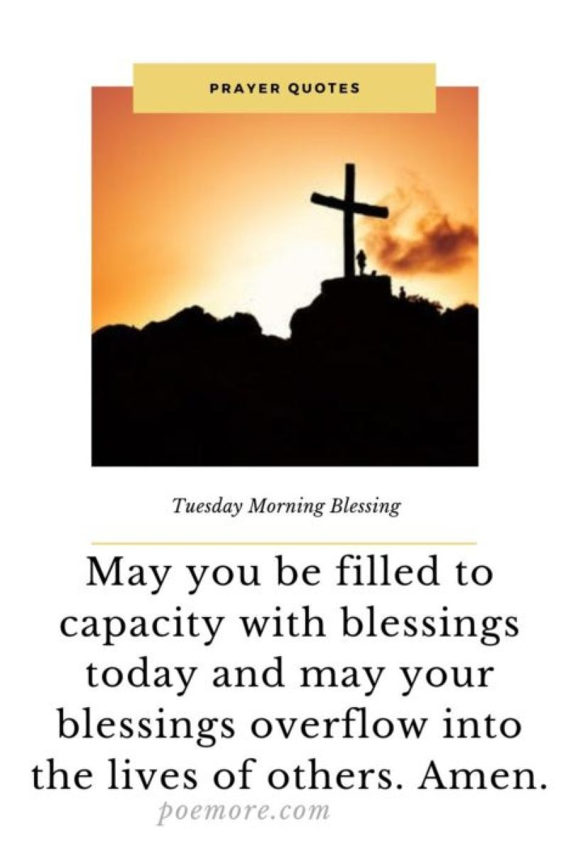 2019 Top Tuesday Morning Quotes Of Prayers And Blessing