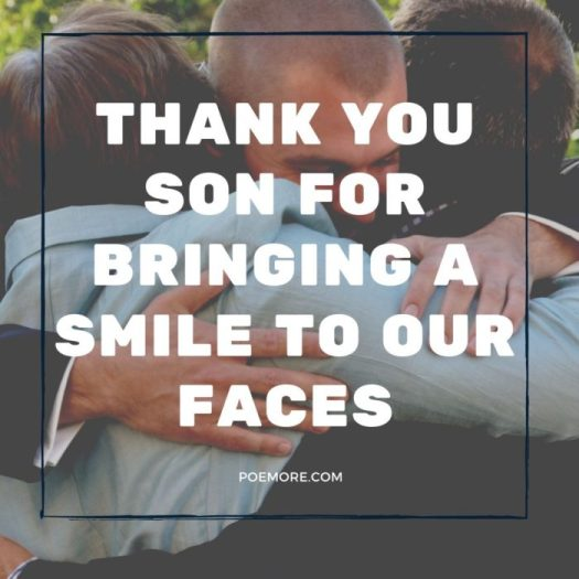 Thank You Notes For Son