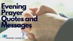 Evening Prayers Quotes