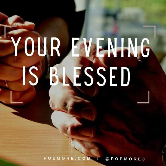 Evening Prayer Messages