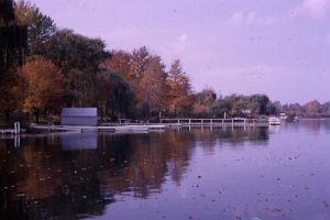 Donnell Lake, Vandalia, MI, in fall