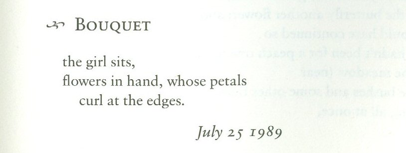 Page 17 - (Haiku) Bouquet