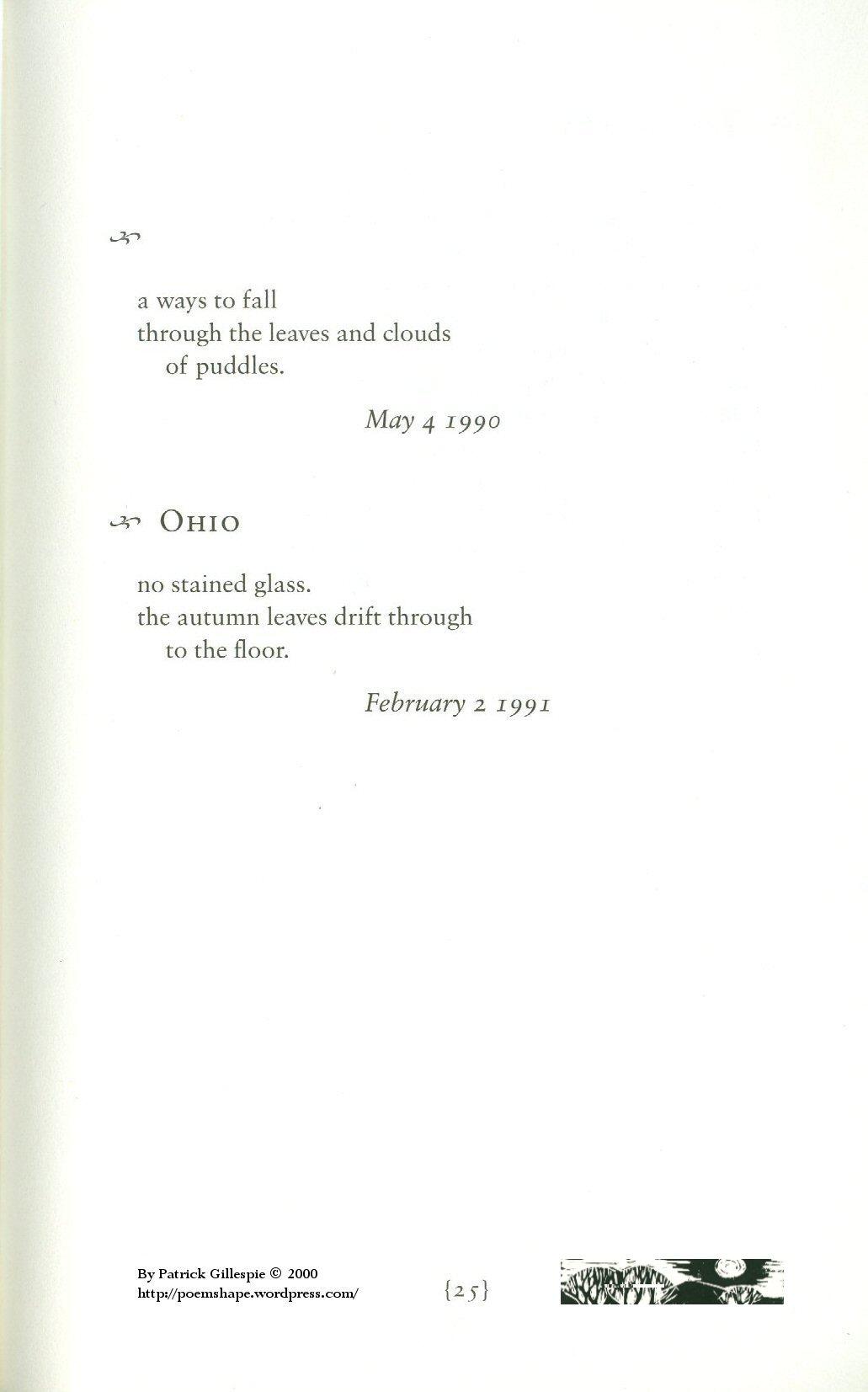 Page 25 - Two Haiku
