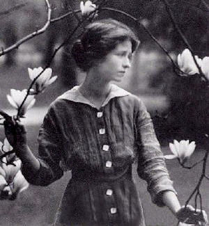 Millay with Flowers