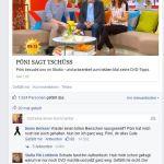 Pönis Abschied vom SAT 1 Frühstücksfernsehen