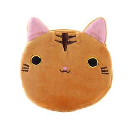 Kat portemonnee bruin