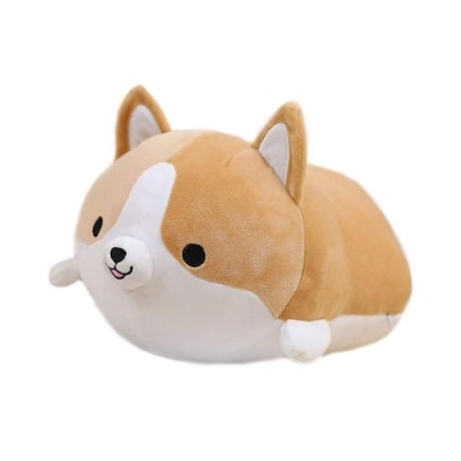 Shiba knuffel oranje
