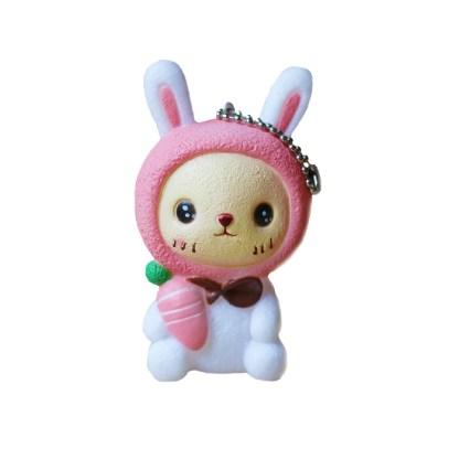 Squeaky toy konijn