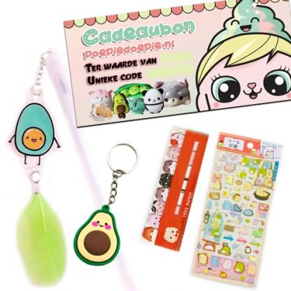 Mini kawaii cadeaupakketje