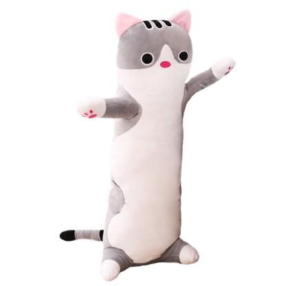 XXL Long Kawaii Cat Plush