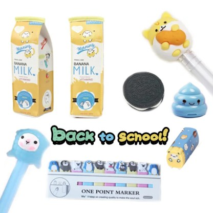 Back to school pakket
