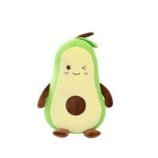 Avocado zachte knuffel knipoog