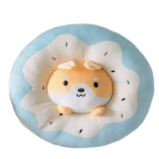 Shiba donut knuffel kussen