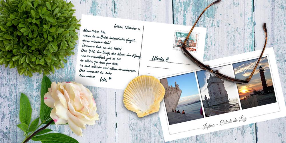 Postkarte an mich