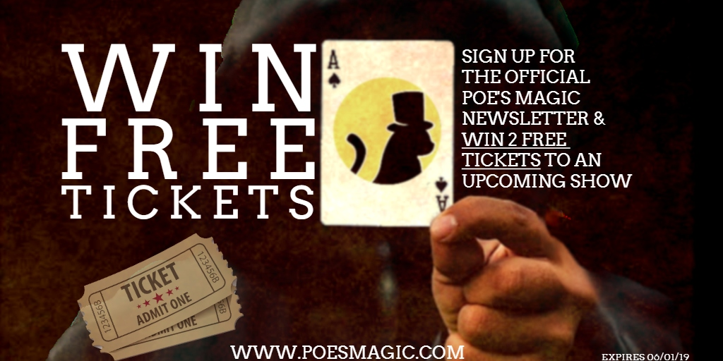 Win free tickets to Poe's Magic Theatre