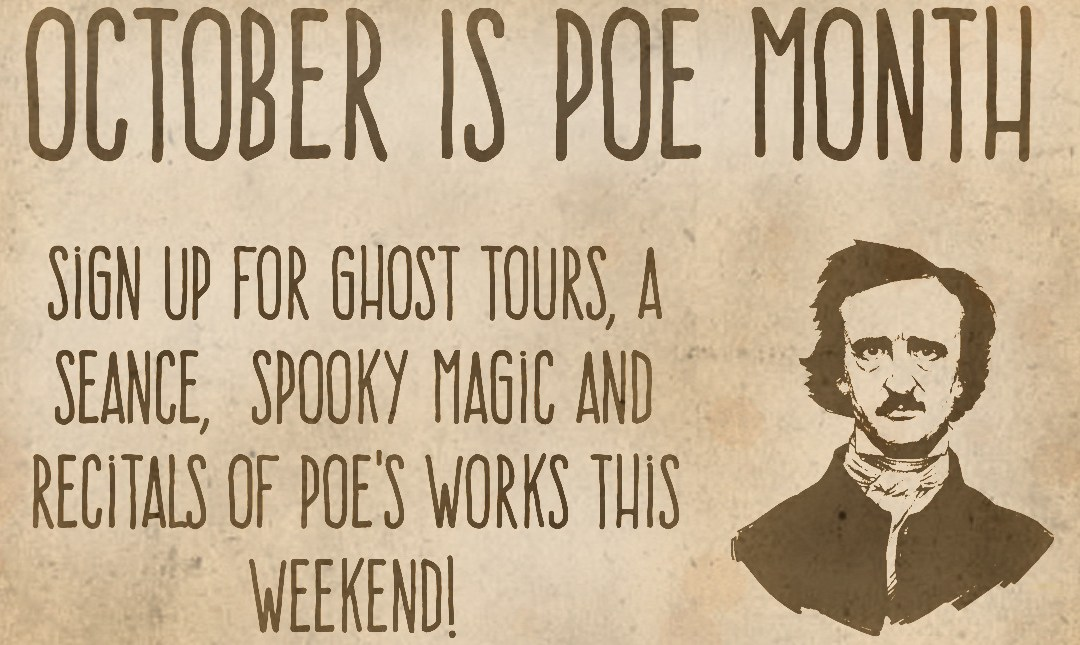 October is Poe Month