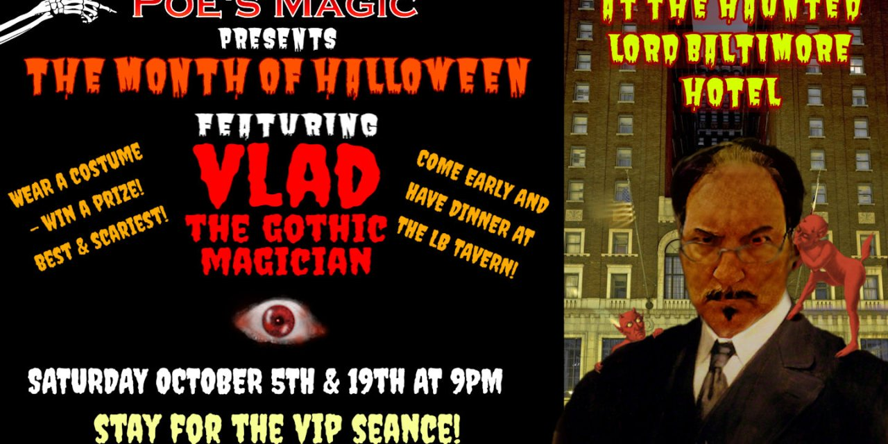 Halloween Magic with Vlad