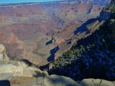 The great depth of the Grand Canyon and especially the height of its strata (most of which formed below sea level) can be attributed to 5–10 thousand feet (1,500 to 3,000 m) of uplift of the Colorado Plateau