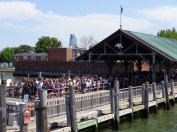 Waiting for the Ferry to Ellis Island