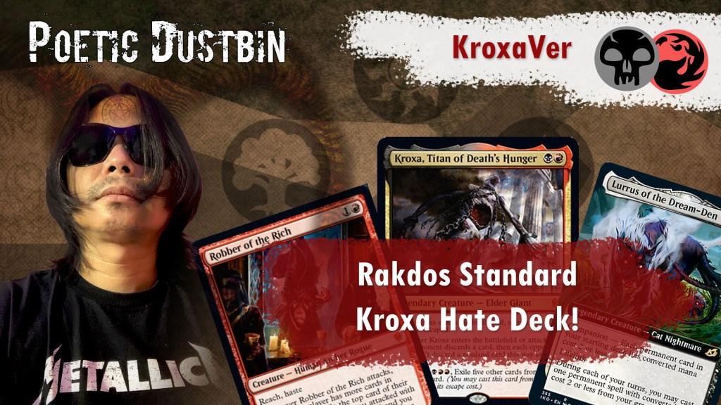 MTG Arena Standard Deck Rakdos Kroxa Hate Deck