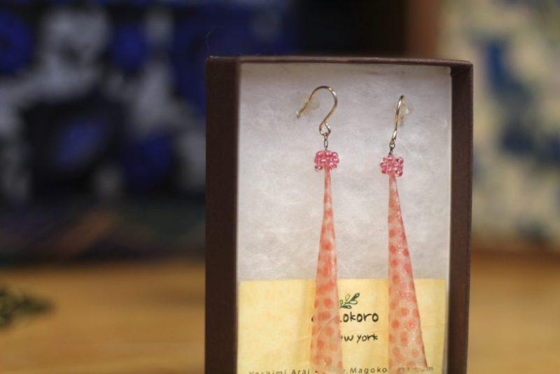 Melitas Gifts Ossining New York Origami Earrings