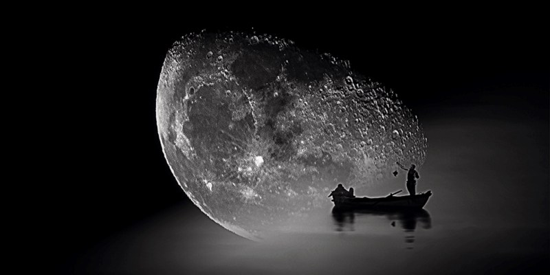 la barca della Luna by Claudia Dea