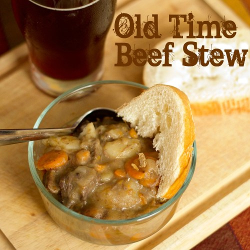 beef stew and beer