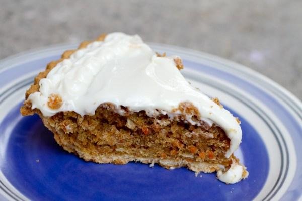 carrot cake pie