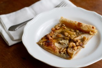 Cashel Blue Pear and Walnut Tart