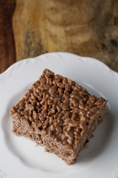 Nutella Cocoa Krispie Treats - poet in the pantry
