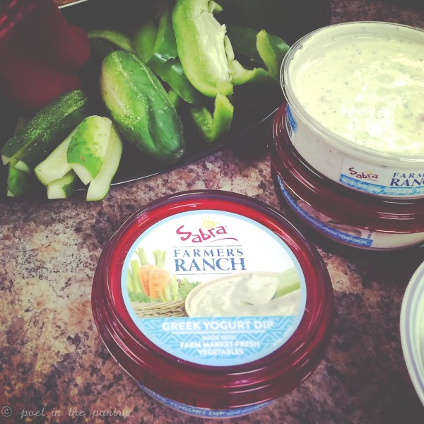 A new product will be coming soon in the Sabra Greek Yogurt Dip line and I'm really excited about this! This is the most amazing version of Ranch I have ever tasted--I'll be buying it by the case!